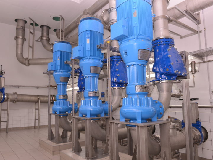 Turo® Vortex Pumps for pumping station in Germany