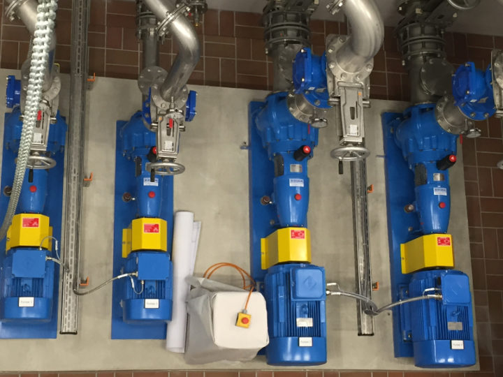 New Pumping station in Bavaria with 4 Egger Turo® Pumps