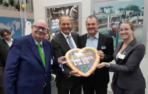 Egger - Since 50 years on the IFAT