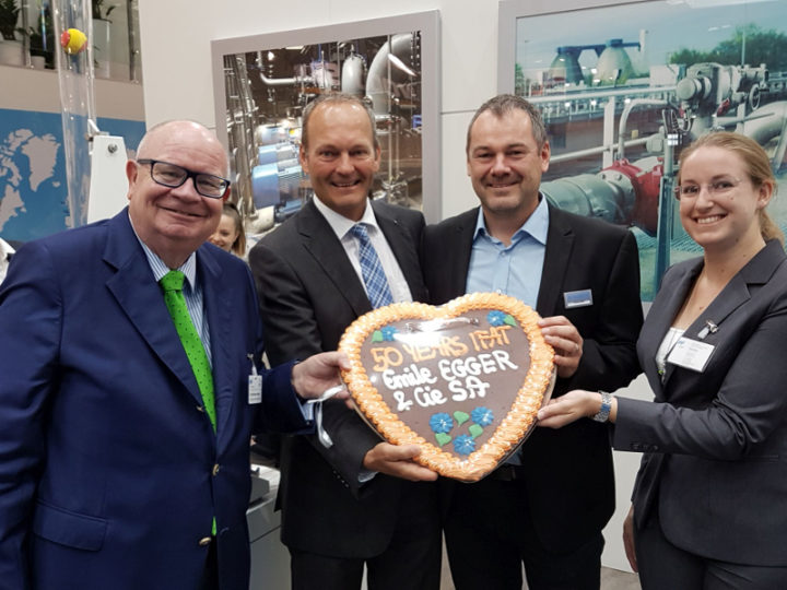 Thanks for your visit on the Egger booth – Anniversary IFAT sets new benchmark