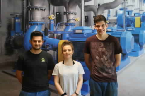 Diplomed Apprentices 2016 Egger Cressier
