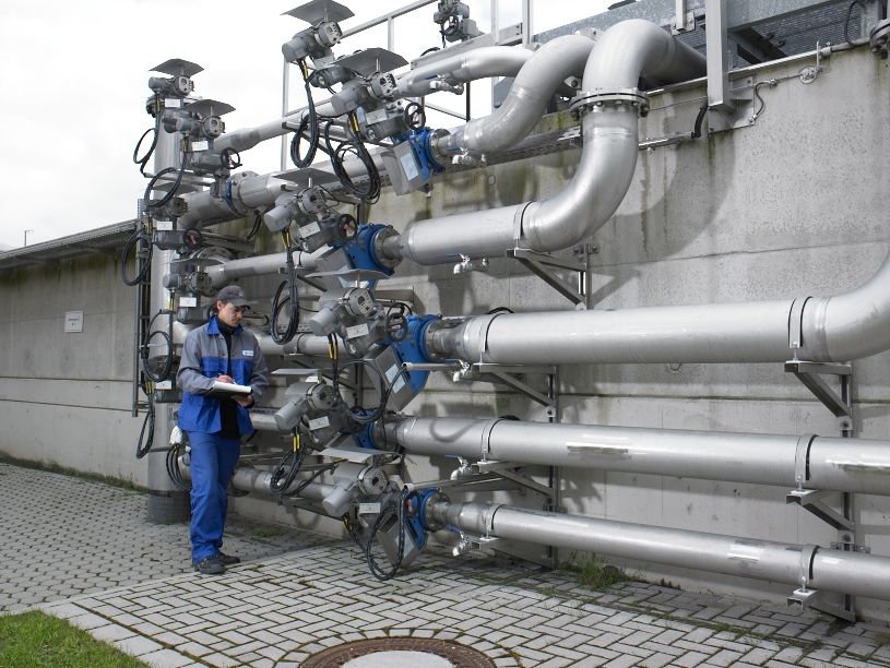 Aeration flow control with Egger Iris Valves in a WWTP in Germany