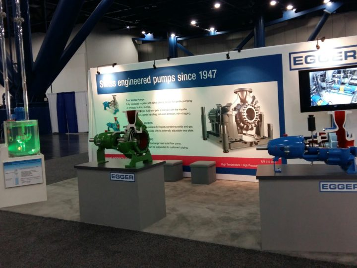Thank you for your visit at the Egger booth during Turbomachinery and Pump Symposium