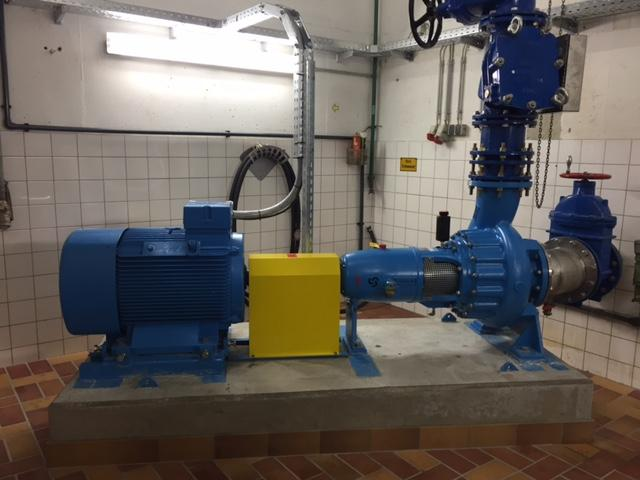 Raw wastewater pumping station for Münster City