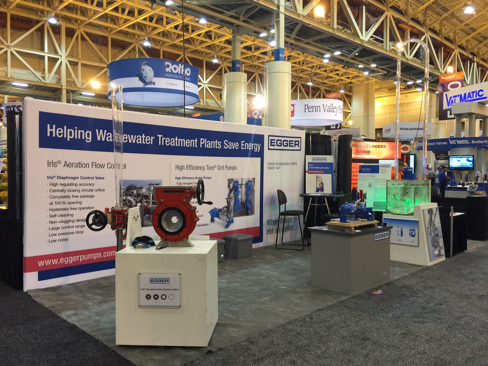 Weftec Egger Booth 5418