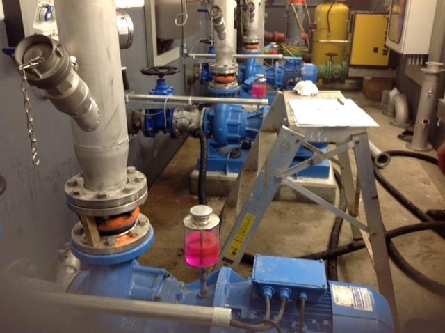 8 pompes Turo® Vortex et 2 vannes de régulation pour bassin d'orage à Homberg-Hakenfeld