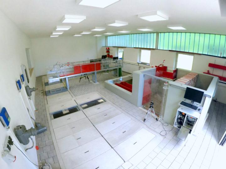 Strömungsmessungen mit Iris® Schiebern in Versuchsanstalt für Wasserbau und Wasserwirtschaft Obernach