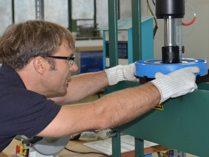 Instandhaltungsseminar für Pumpen bei Egger in Mannheim (Sept. 2017)