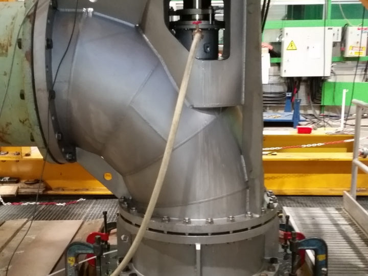 Successful performance test of the new Egger Elbow Propeller Pump generation