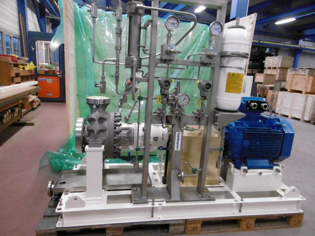 Egger Offshore Process Pump at shipping department