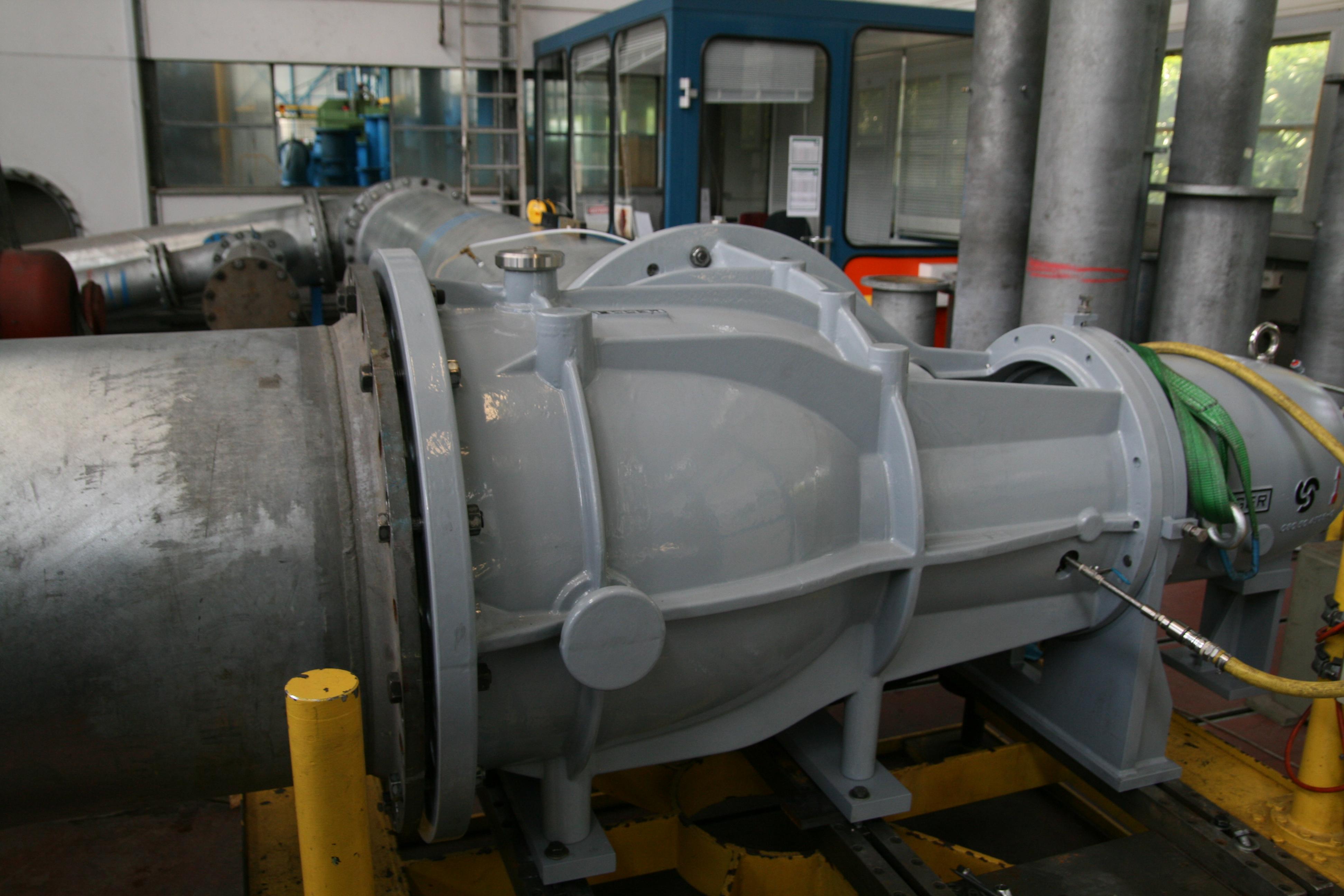 axial pumps for munich sewage treatment plant egger pumps. Black Bedroom Furniture Sets. Home Design Ideas