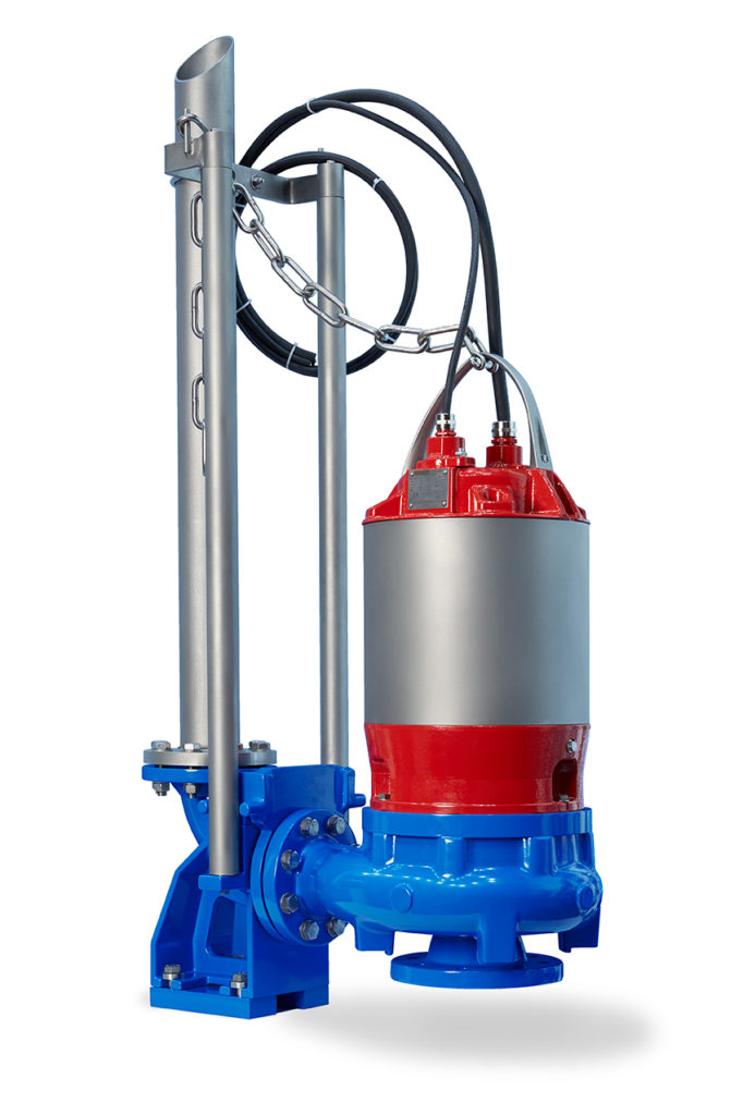 Egger submersible pump with internal cooling or oil lubrication