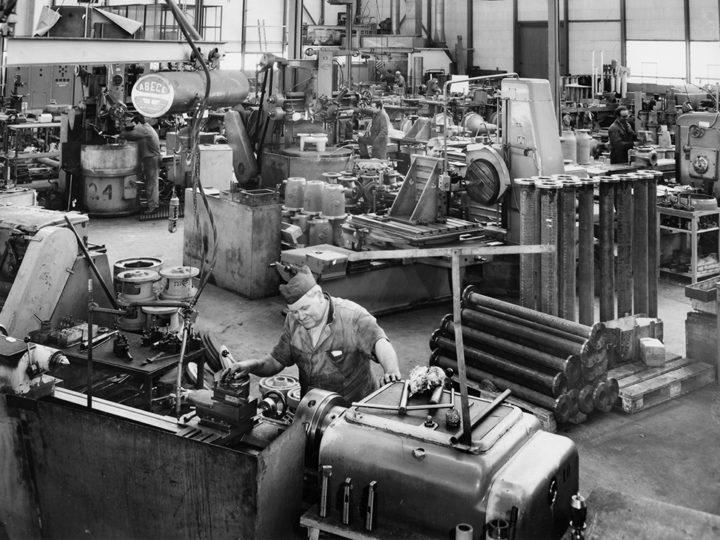 Rückblick zum 70-jährigen Firmenjubiläum der Kreiselpumpenfabrik Emile Egger
