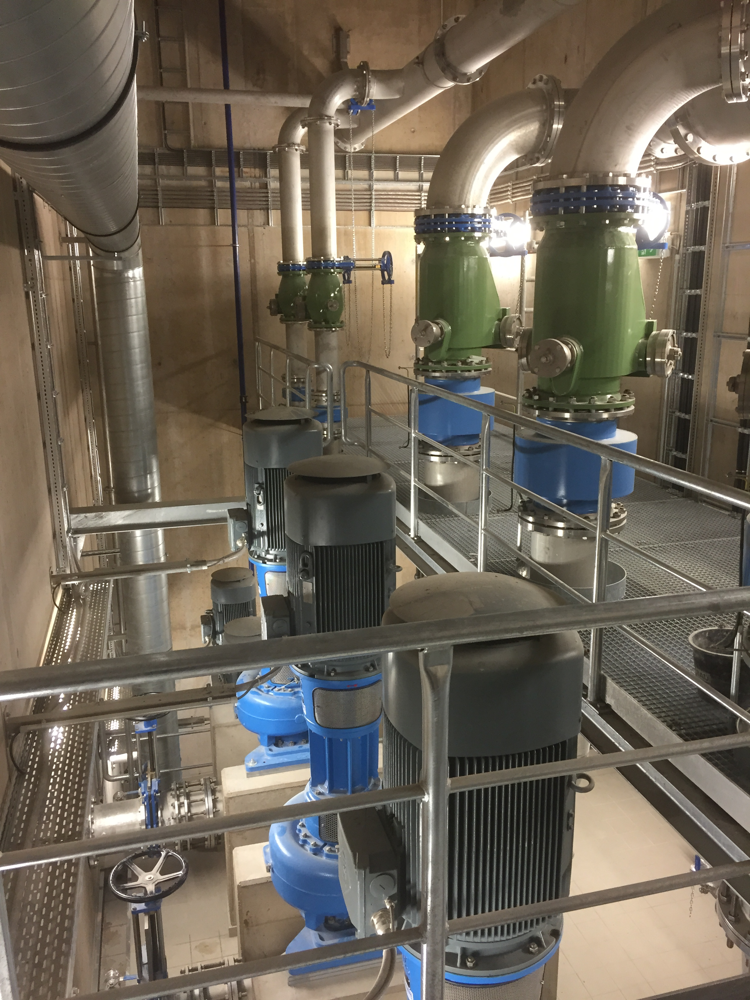 Raw Sewage Pumping Station With Egger Vortex And Multi