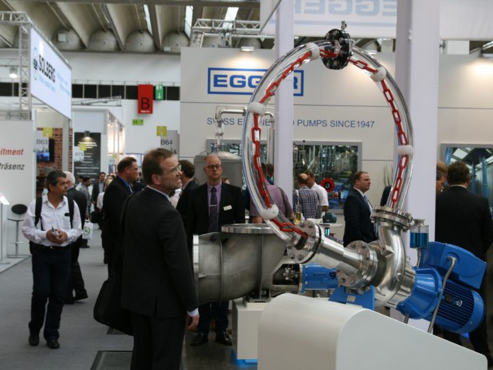 Welcome on Egger booth at ACHEMA Frankfurt 11-15 June
