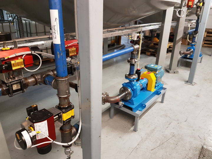 Transfer Pumps for Aluminium Pigments and Flakes in Sweden