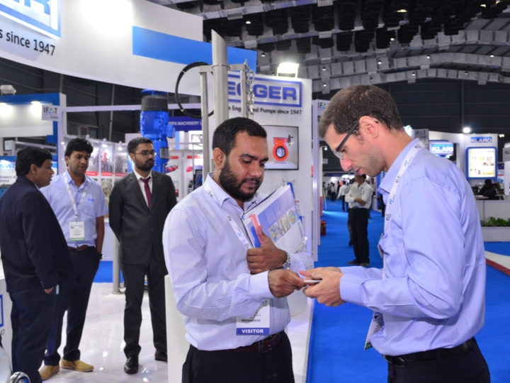 Egger Pumps at IFAT India in Mumbai