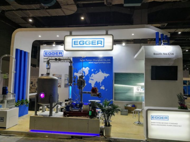 Thank you for your visit on the Egger booth at AchemAsia in Shanghai