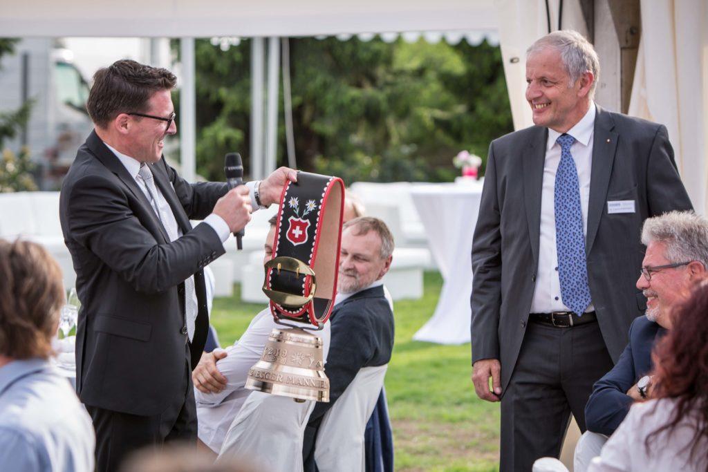 60 Anniversary Egger Mannheim Swiss Bell