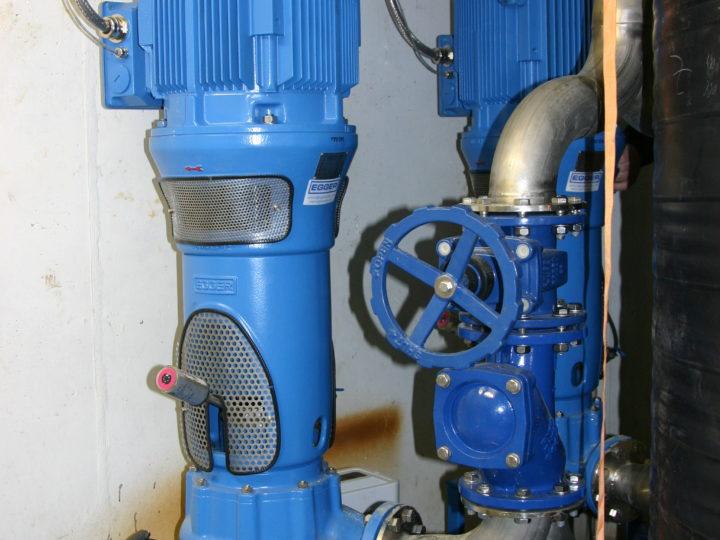 Egger-Pumpen für die Rohabwasserförderung: Pumpwerk Ulbersdorf