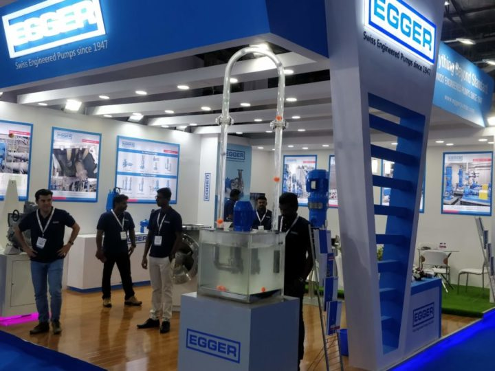 Egger Pumpen auf der IFAT India in Mumbai 2019