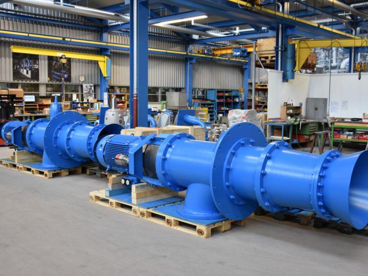 Flusswasserpumpen für Deutschschweizer Energieversorger