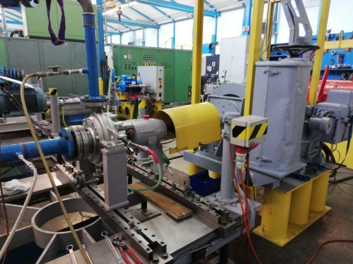 Pumpen-Projekt bei Eastman in den USA