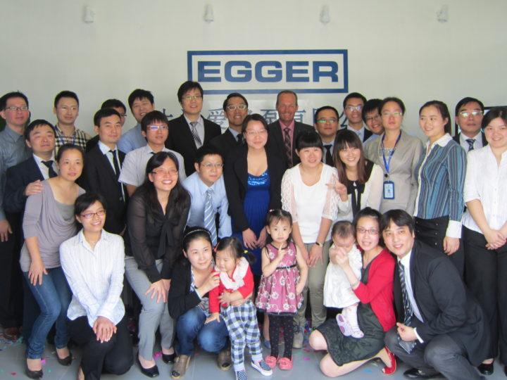 New Egger subsidiary in China
