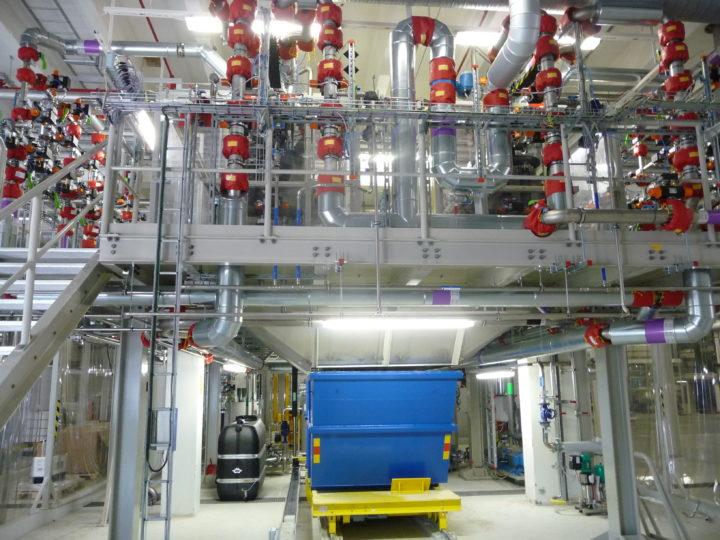 Egger Pumpen für die neue PKW-Vorbehandlungsanlage