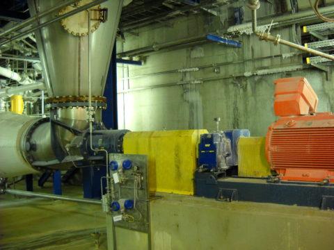 Egger Elbow Propeller Pump in Salt industry