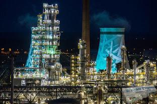 Grosser Besucherandrang bei der 2. PCK-Nacht der Raffinerie in Schwedt