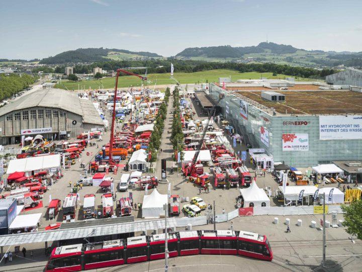 Merci à tous les visiteurs du stand Egger pendant la Suisse Public à Berne