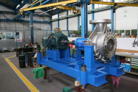 Egger Reactor Pump type EO 9-250 HPT4 LB5S Ex