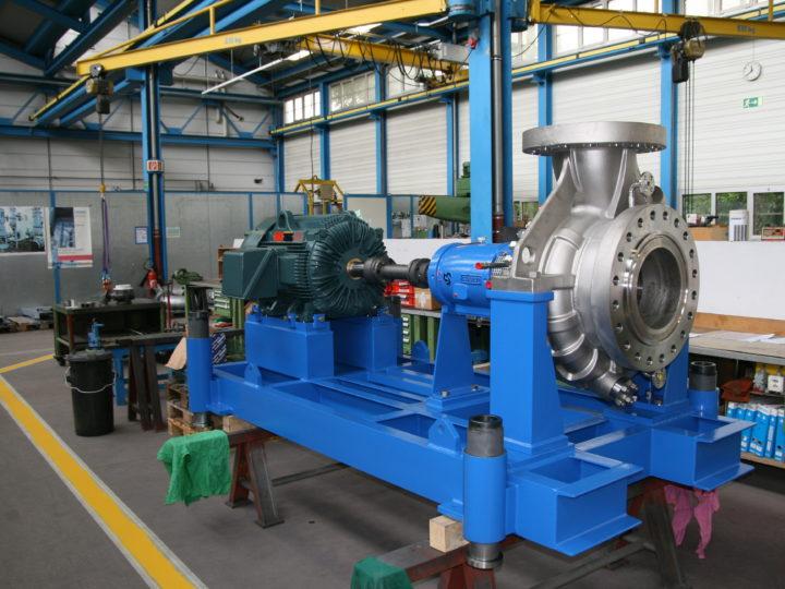 Pompe réacteur pour le marché américain