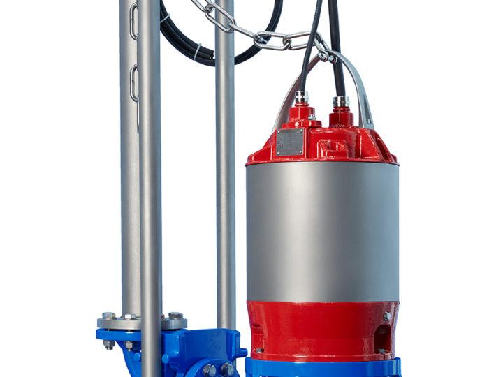 Nouvelle génération de moteurs submersibles pour les pompes Egger Turo® Vortex
